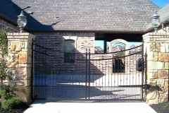 Concave Style Iron Gate